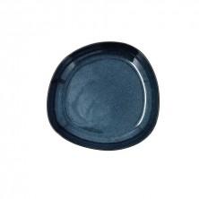 Plato Hondo Ikonic Azul 20,5 x 19,5 x 3,3 cm.