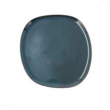 Plato Llano Ikonic Azul 26,5 x 25,7 x 1,5 cm.