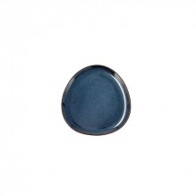 Plato Llano Ikonic Azul 11 x 11 x 11 cm.