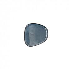 Plato Llano Ikonic Azul 14 x 13,6 x 0,8 cm.
