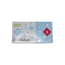 Guantes Nitrilo S (Pequeña) (Caja 100 Uds.)