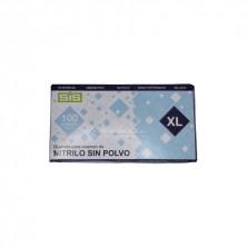 Guante nitrilo XL (Caja 100 Uds.)