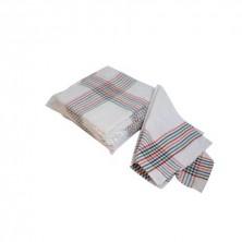 Paño Sarga blanco 55 x 55 (Packs de 12 Uds.)